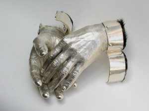 """""""...so he gave his wife a pair of beautiful silver hands'"""